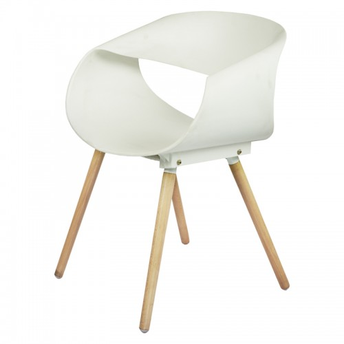 CAFE  CHAIR-DF-6003 (WHITE)