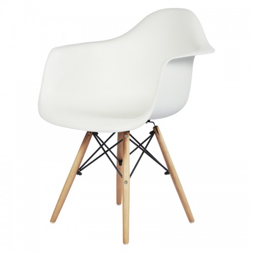 CAFE CHAIR:DF-6004(WHITE)
