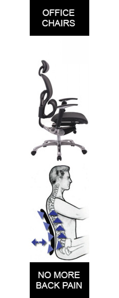 Office Furniture Surat - Ergonomic Chair